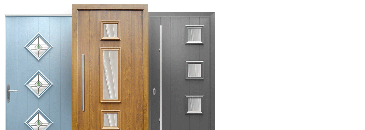 Composite door slabs from Solidor